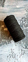 Шнур премиум коттон 4мм Чёрный