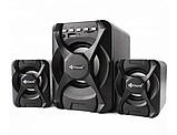 Компьютерные колонки Kisonli (U-2500BT) Desktop Speaker 2.1 c USB и microSD ридером, фото 2