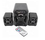 Компьютерные колонки Kisonli (U-2500BT) Desktop Speaker 2.1 c USB и microSD ридером, фото 6