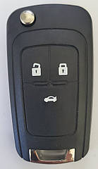 Корпус ключа для OPEL VAUXHALL Insignia Astra Zafira для Chevrolet Cruze