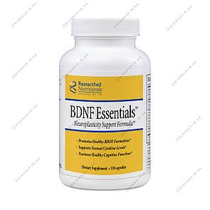 BDNF Essentials, Формула поддержки нейропластичности 120 капс. Researched Nutritionals