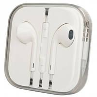 Наушники Apple EarPods 3.5  (Original) Пластиковая упаковка (MD827) для Iphone 5,5s,SE,6,6 plus,6s