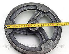 Шкив 1 ручейный  диаметром 235 мм. (заготовка)