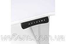 Регулируемый стол Barsky StandUp Memory All White electric 2 motors hpl 1350*670 BSUAW_el-01, фото 3