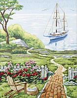 Набор для вышивания крестом Crystal Art Дорога к морю