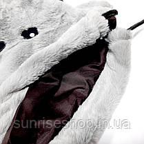 Рюкзак меховой на затяжках, фото 3