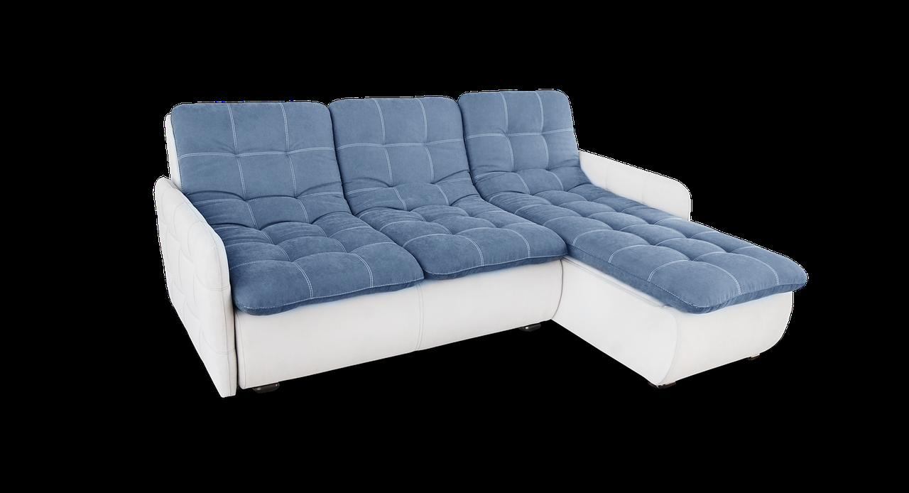 Угловой модульный диван  Орлеан фабрики Нота с оттоманкой