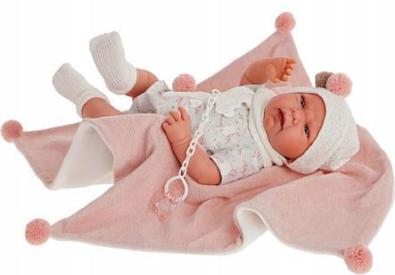 Лялька немовля Lea Conjunto Juan Antonio 3308, фото 2