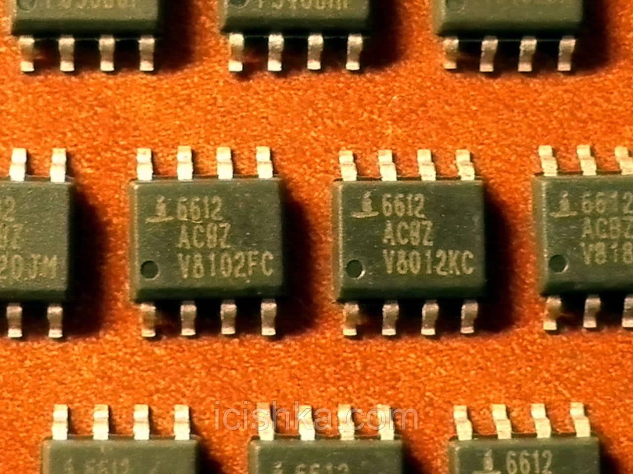 ISL6612 / ISL6612ACBZ SOP8 - Драйвер мосфетов верхнего и нижнего плеча