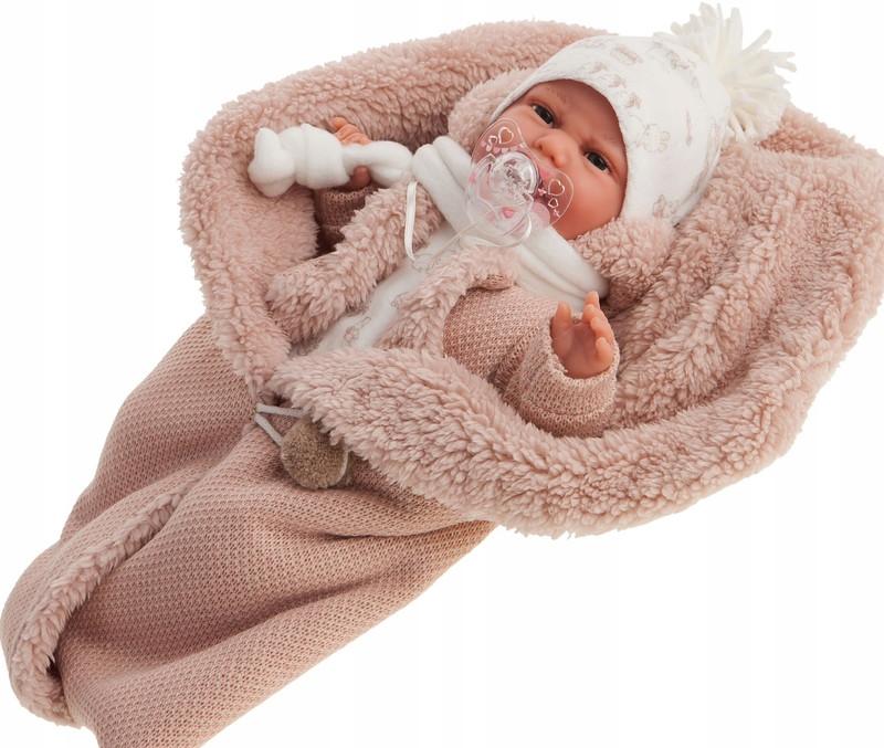 Лялька немовля Clara озвучена Juan Antonio 34 см 7046