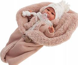 Кукла младенец Clara озвучена Antonio Juan 34 см 7046