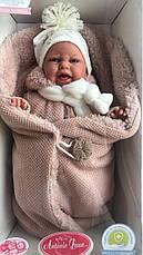 Лялька немовля Clara озвучена Juan Antonio 34 см 7046, фото 2