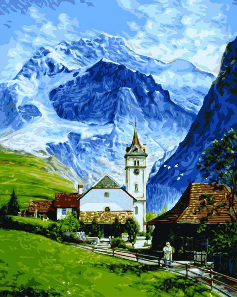 Картина по номерам Гриндельвальд 40 х 50 см ТМ Brushme GX9861