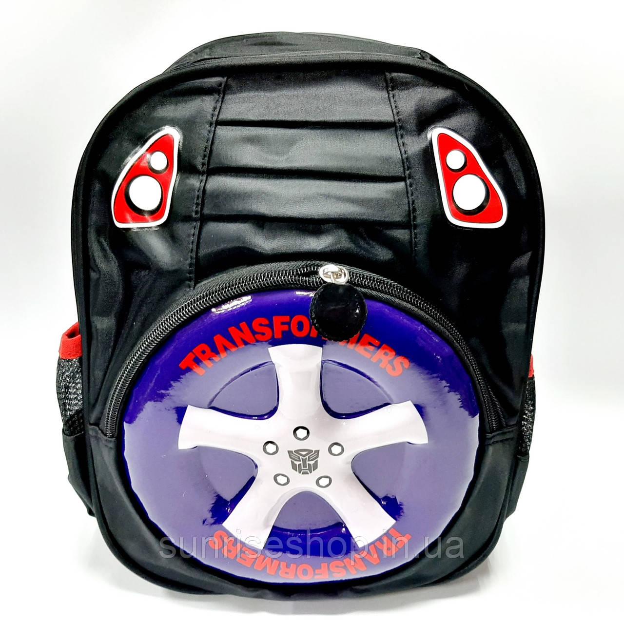 Детский рюкзак для мальчика чёрный