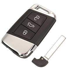 Ключ Smart Remote Key 3 кнопки 315 МГц / 434 МГц  для Volkswagen Passat, B8,Skoda Superb, A7