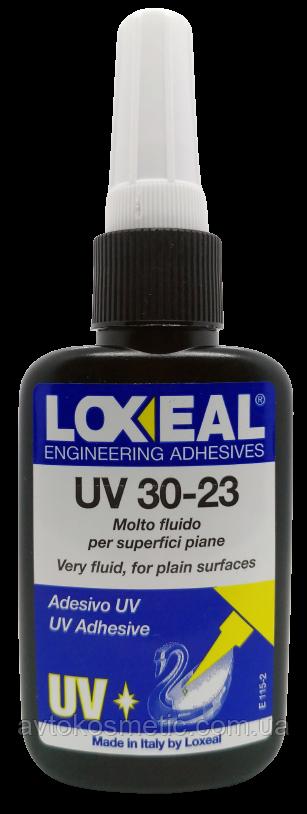 УФ-клей для стекла. металла, трещин LOXEAL 30-23, капиллярный, 50 мл