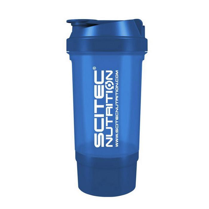 Шейкер для спортивного питания Scitec Nutrition Scitec Shaker 500 Travel (500 ml) blue