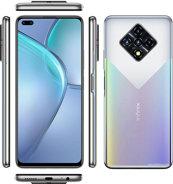 """Смартфон Infinix Zero 8 6.85"""" 8/128Gb Silver Diamond 4500 мАч"""
