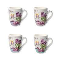 "(Цена за 12шт) Чашка ""Music of flowers"" 350мл"