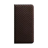 Чохол-книжка Carbon for Samsung A01 / M01 Коричневий, фото 1