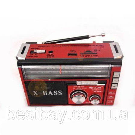 Радиоприемник GOLON RX-382 с MP3, USB + фонарик, фото 2