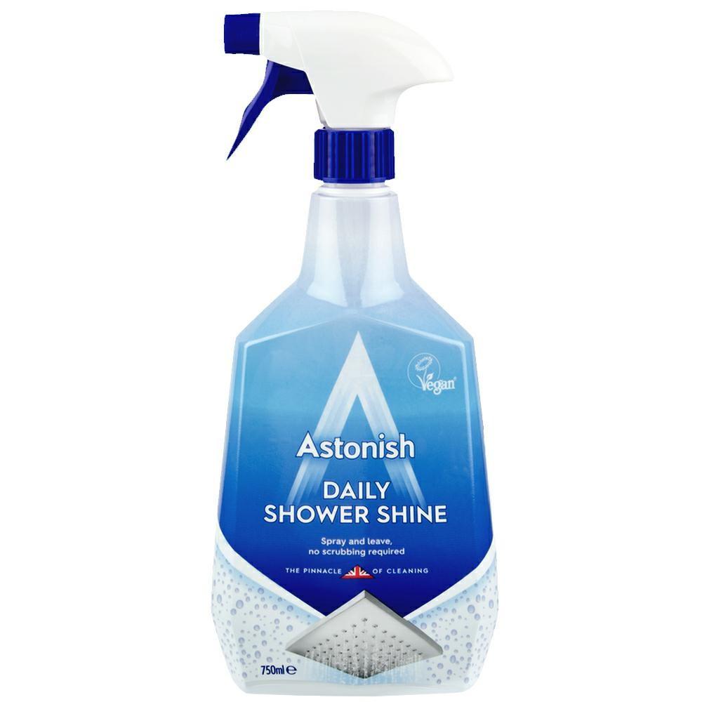 Спрей ASTONISH  750 млl Shower для чищення ван та душових кабін