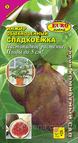 Инжир Сладкоежка обыкновенный 0,01 г (Аэлита)