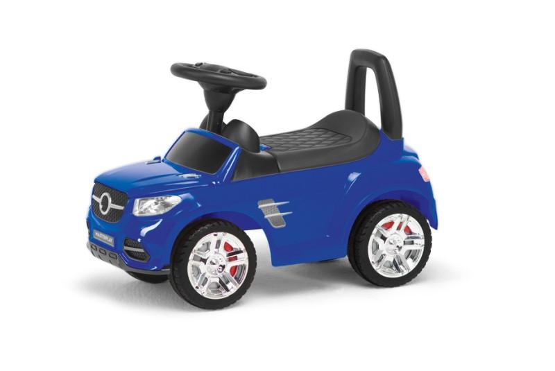 Детская машинка каталка толокар синия