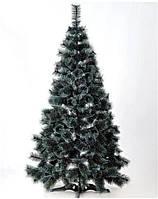 Ель искусственная Лидия 1,30 м с белыми кончиками и шишками ЯШЛ-БКШ-1.30, фото 1
