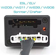 Универсальный эмулятор рулевого замка для Sprinter Vito Volkswagen Crafter, для M-ercedes B-enz ESL ELV, фото 3