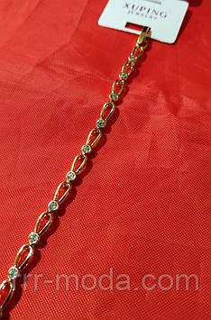 Классические браслеты с кристаллами оптом. 10