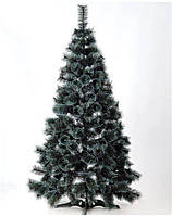 Ель искусственная Лидия 1,50 м с белыми кончиками и шишками ЯШЛ-БКШ-1.50, фото 1