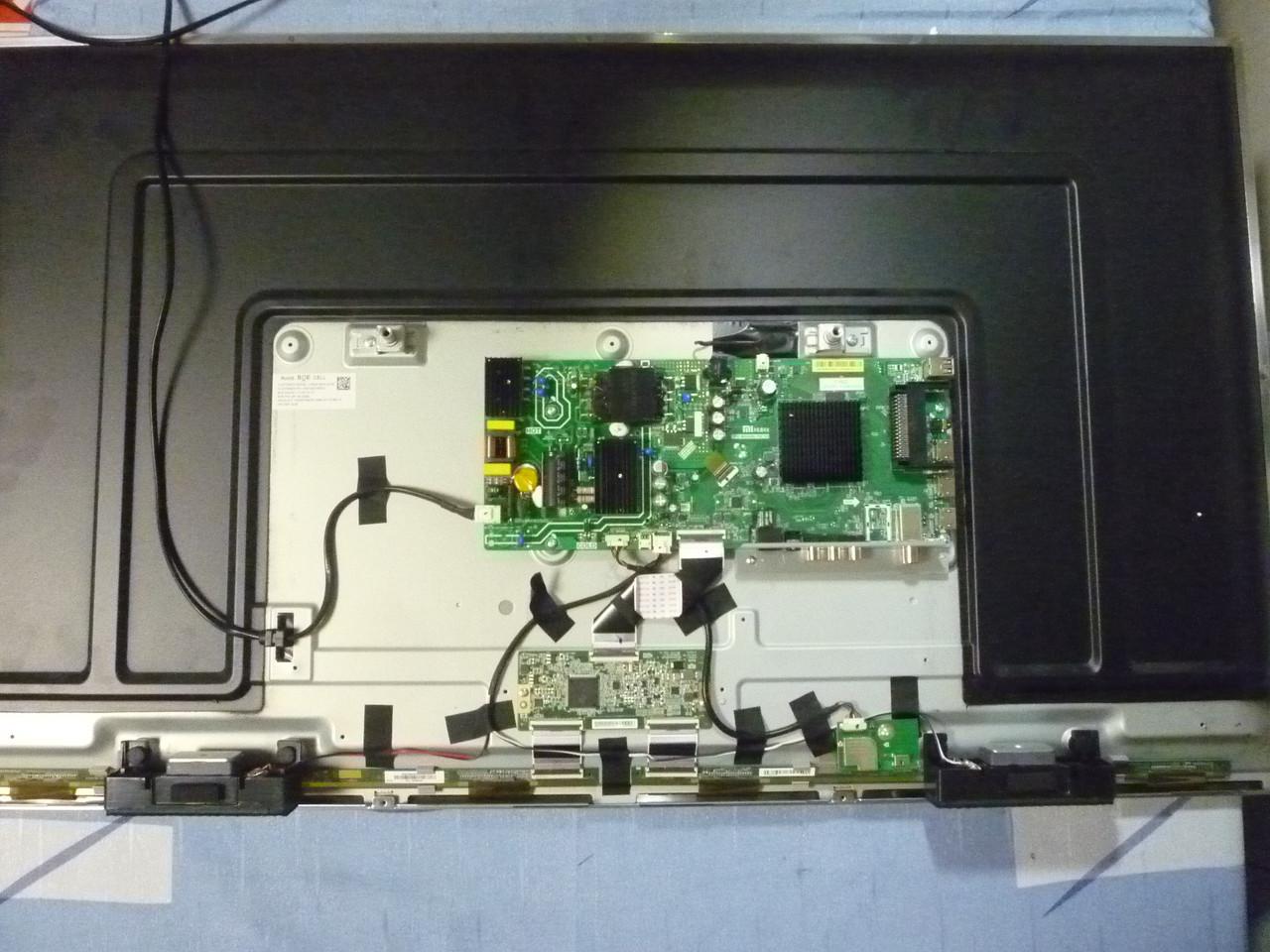 Платы от LЕD TV Xiaomi L43M5-5ARU поблочно (матрица разбита).
