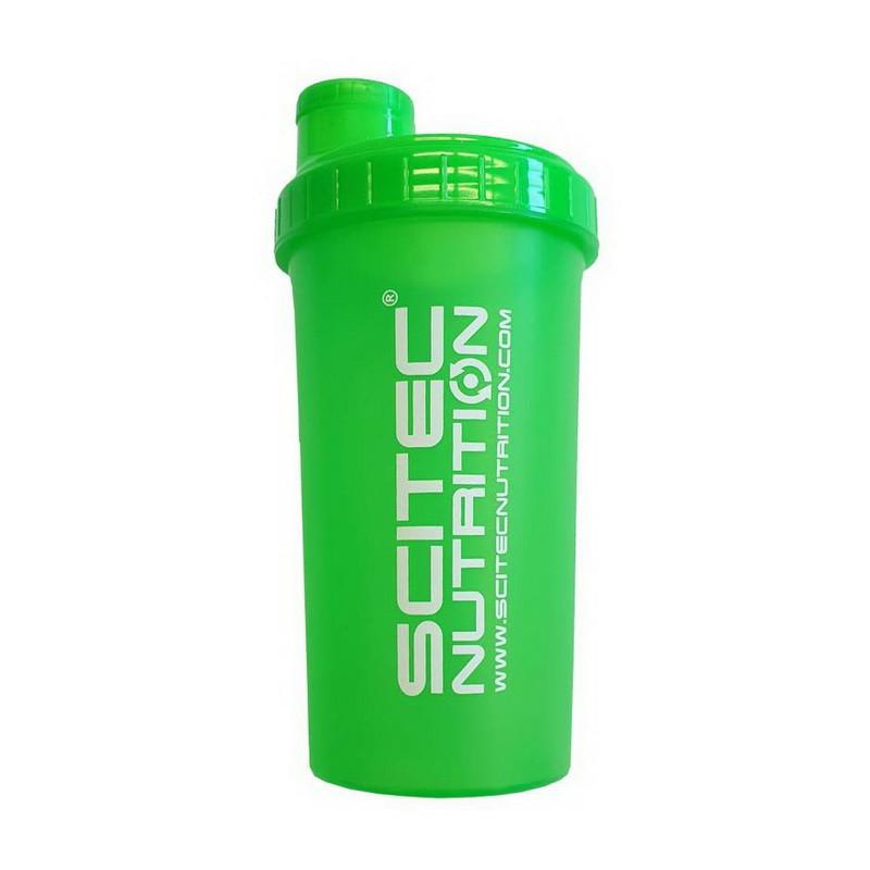Шейкер для спортивного питания Scitec Nutrition Shaker NEON Green (700 ml)