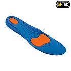 M-Tac стельки Universal PU Light Grey/Blue спортивные, фото 4