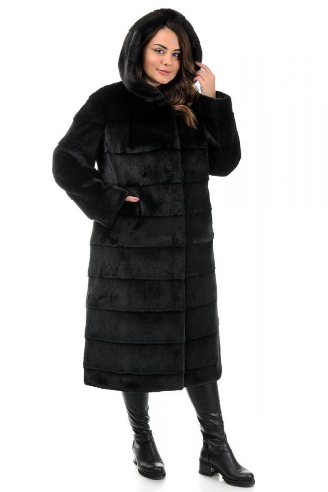 Женская черная шуба,шиншилла 100% под натуральную 42-44, 48-50,52-54,56-58,60-62