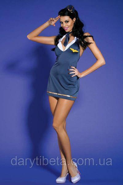 Эротический костюм «Неземная Стюардесса», Sunspice  размер S/M + ПОДАРОК !!!
