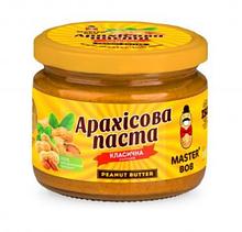Арахісова Паста класична солодка, Майстер Боб, 200г.