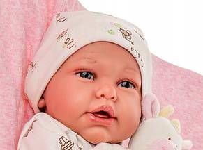 Лялька немовля Mi Primer Reborn Даніела Juan Antonio 52 см 8163, фото 3