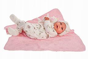 Лялька немовля Mi Primer Reborn Даніела Juan Antonio 52 см 8163, фото 2