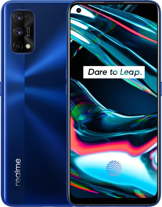 Смартфон Realme 7 Pro 8/128Gb Mirror Blue Qualcomm Snapdragon 720G 4500 мАч