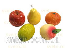 Муляжі фрукти в контейнері Набір 10 од.
