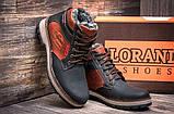 Мужские зимние кожаные ботинки, фото 3