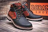 Мужские зимние кожаные ботинки, фото 5