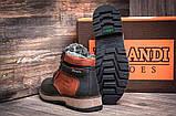 Мужские зимние кожаные ботинки, фото 2