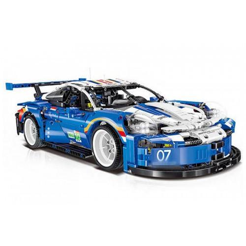 "Конструктор TECHNIC порш 0010 ""Porsche 911"" масштаб 1:12, 1620 деталей."