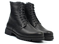Зимові черевики ручної роботи шкіряне чоловіче взуття великих розмірів Ultimate by Whisper Rosso Avangard BS, фото 1