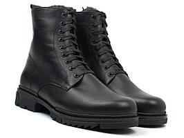 Зимові черевики ручної роботи шкіряне чоловіче взуття великих розмірів Ultimate by Whisper Rosso Avangard BS