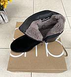 Зимние ботинки Corso Como натуральная замша шерсть 38, фото 4