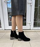 Зимние ботинки Corso Como натуральная замша шерсть 38, фото 7